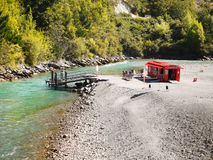 Shotover River, Queenstown, New zealand Stock Image