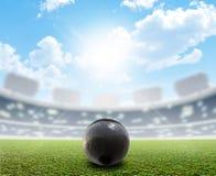 Shotput Ball Stadium And Green Turf Stock Photography