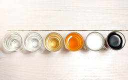 Shots of alcohol Royalty Free Stock Photography