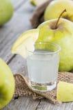 Shots (Apple Liqueur) royalty free stock photo