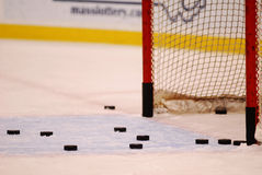 Shots on goal Royalty Free Stock Photos