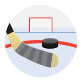 Shots on goal Royalty Free Stock Images
