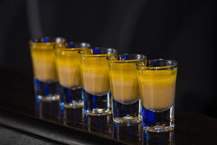 Shots in nightclub Stock Images