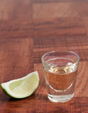 Shots of tequila Stock Photography