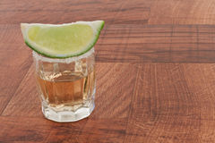 Shots of tequila Royalty Free Stock Photo