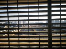 Shotting una visión especial en el ferrocarril de wuhu imagenes de archivo