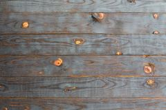 Shou Sugi Ban Wooden Background. With wood knots royalty free stock photo