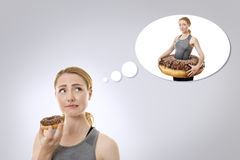 Should I eat this Stock Images