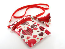 Shoulder bag for girls Stock Photos