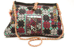 Shoulder bag hand made in turkey Stock Images