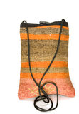 Shoulder bag made of kilim tapestry rug Turkey Stock Photos