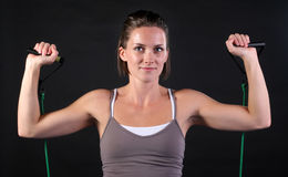 Shoulder Exercise Royalty Free Stock Photography