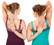 Shoulder Exercise Royalty Free Stock Photos