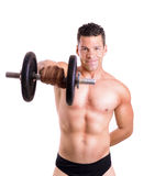 Shoulder exercise Royalty Free Stock Images