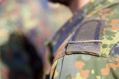 Shoulder from a german corporal soldier Royalty Free Stock Photography