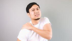 Shoulder injury. Royalty Free Stock Image
