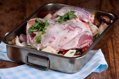 Shoulder of lamb Stock Photos