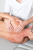 Shoulder manipulation Royalty Free Stock Photos
