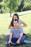 Shoulder massage Royalty Free Stock Photography