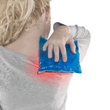 Shoulder Pain Royalty Free Stock Images