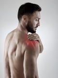 Shoulder pain Stock Images