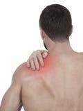 Shoulder pain Royalty Free Stock Photos