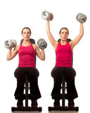 Shoulder Press Stock Photography