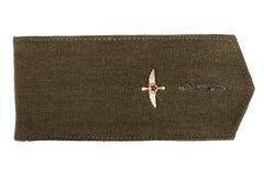 Shoulder strap. Object on white - shoulder strap close up stock image