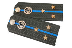 Shoulder strap of russian army Stock Images