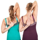 Shoulder Stretching Exercise Stock Photo