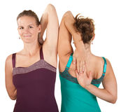 Shoulder Stretching Exercise Stock Image
