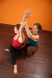 Shoulder Stretching Exercise Stock Photos