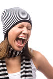 Shout Royalty Free Stock Image