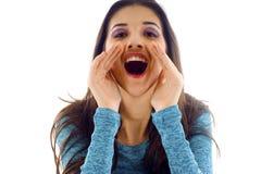 Shouting! Imagens de Stock Royalty Free