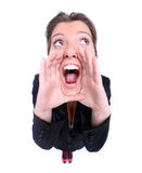 Shouting Stock Photography