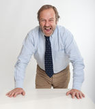 Shouting businessman Royalty Free Stock Photo