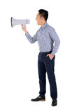 Shouting businessman Royalty Free Stock Images