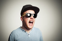 Shouting! Royalty Free Stock Images