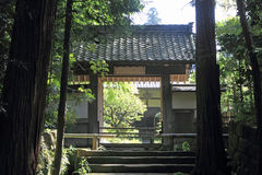Shoutouin w Kencho ji, Kamakura, Japonia obraz stock