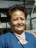 Shova dilué Shrestha, un activiste social Photo libre de droits