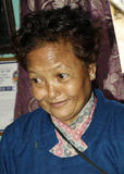 Shova dilué Shrestha, un activiste social Photographie stock libre de droits