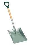 Shovel. 3D detailed illustration of a working shovel Stock Photo