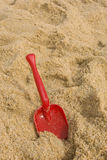 Shovel. Beach shovel Royalty Free Stock Photo