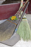 Shovel and Broom, South Korea Stock Photos