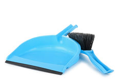 Shovel and brush Royalty Free Stock Images