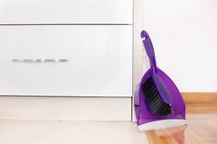 Shovel and brush set Stock Photo