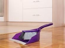 Shovel and brush set Royalty Free Stock Images