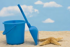 Shovel and Bucket Royalty Free Stock Photography