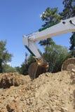 Shovel of a Bulldozer Stock Photography