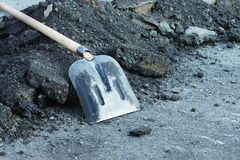 Shovel for construction Stock Image